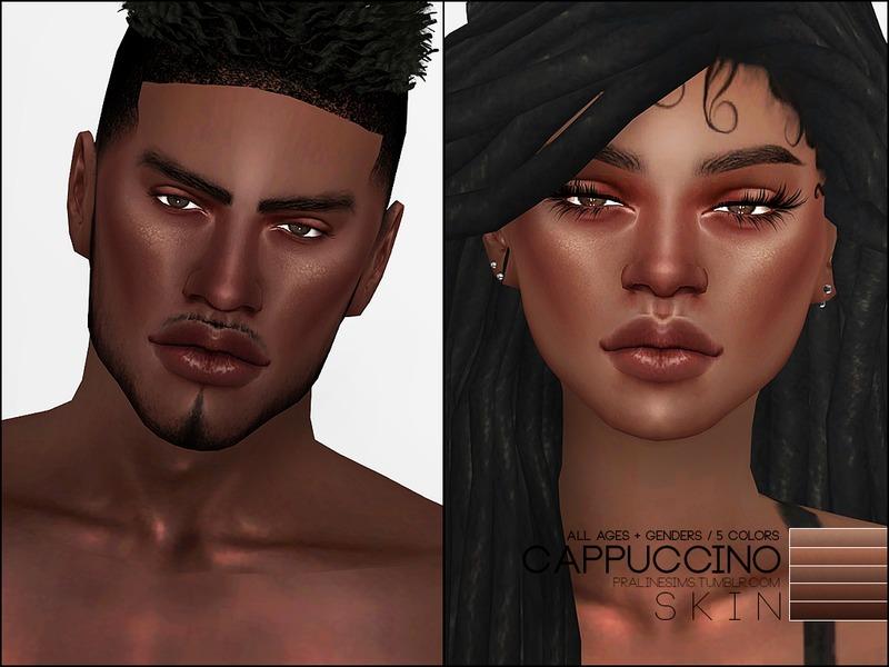 Sims 4 Black Skins