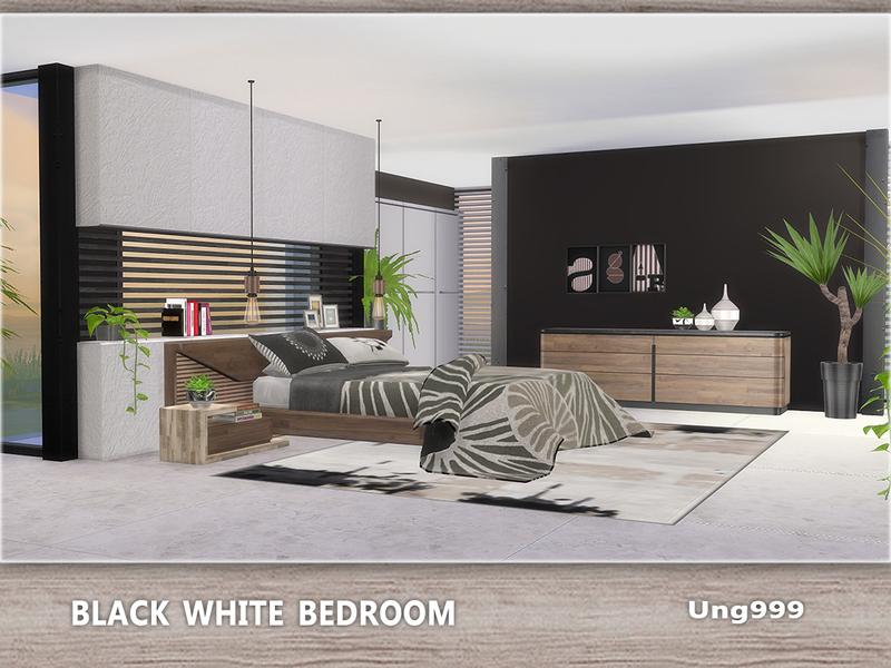 ung999\'s Black White Bedroom