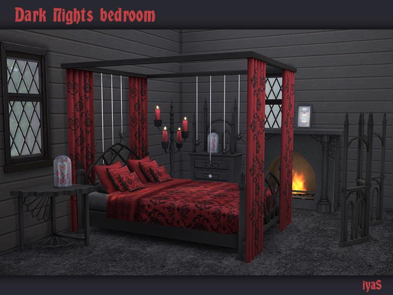 Soloriya S Dark Nights Bedroom