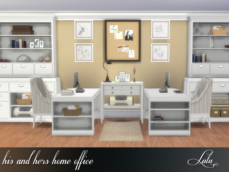 Lulu265 39 S His And Hers Home Office