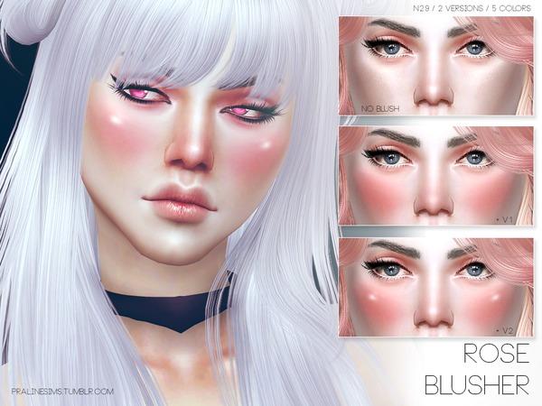 Pralinesims Rose Blusher N29