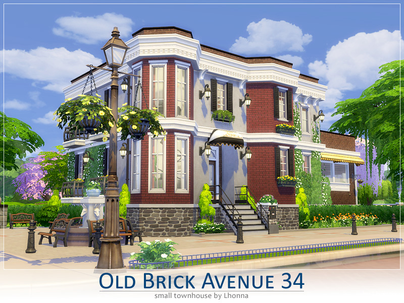 Lhonna 39 s old brick avenue 34 the red dwarf for Classic house sims 4