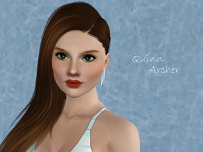 Sims 3 — Quinn Archer by jessesue2 — Quinn Archer is an easy going gal who loves the outdoors and prefers to be in her