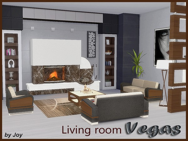 Living Room Vegas The Sims 4 SimsFinds