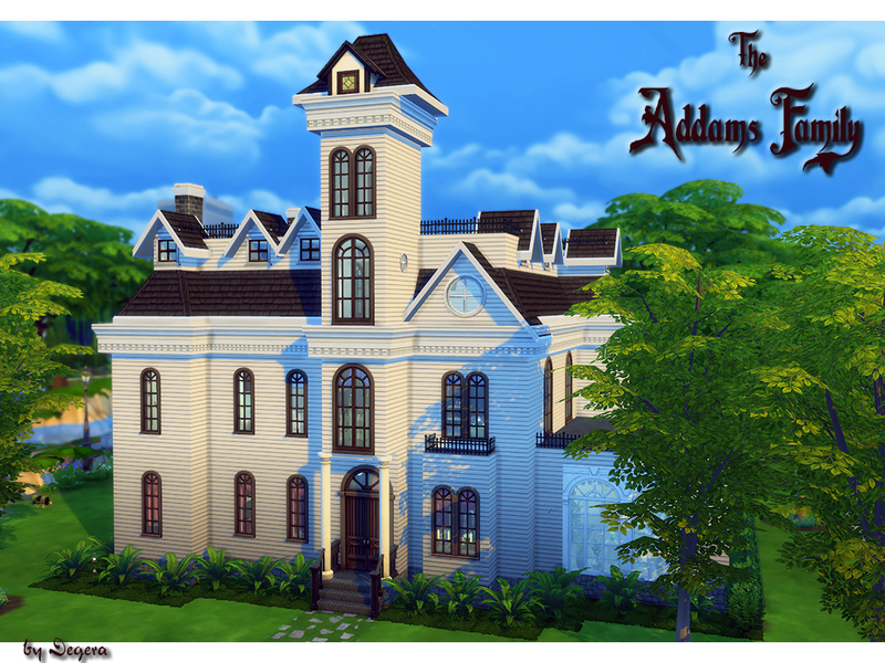 Degera's The Addams Family Manor