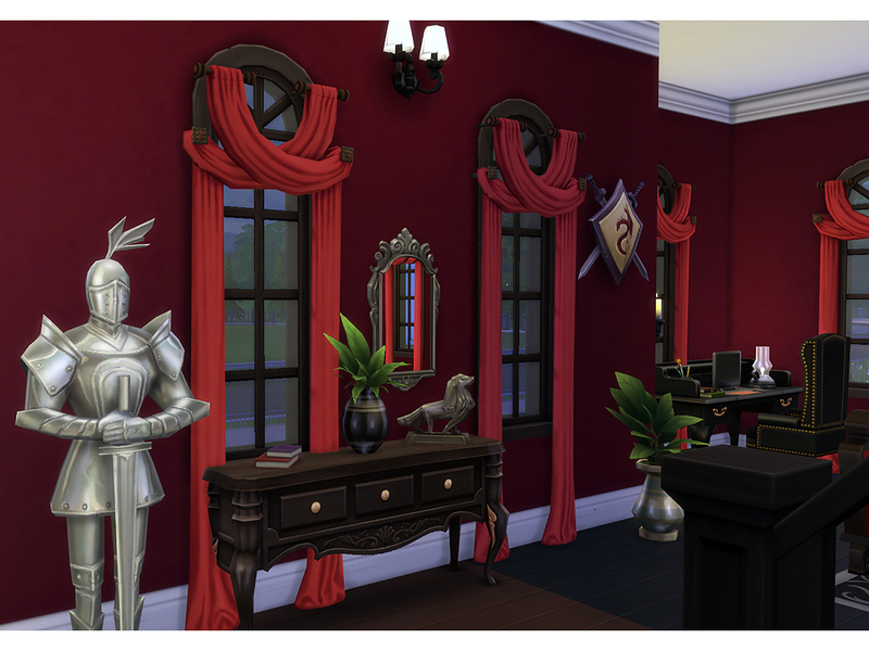 Degera 39 s the addams family manor for The addams family living room