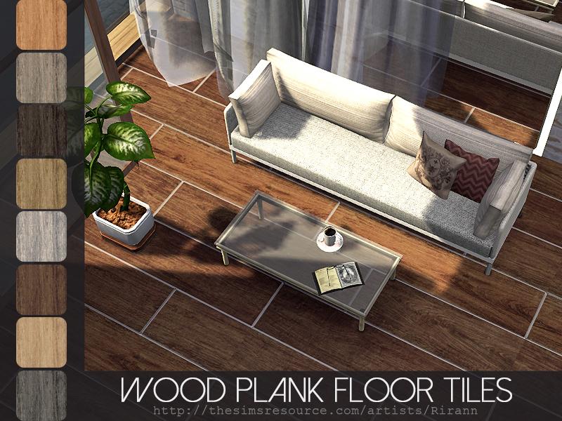 Rirann S Wood Plank Floor Tiles
