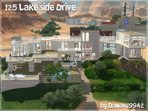 Sims 3 — 125 Lakeside Drive - TS2 to TS3 by daman19942 — Lucky Palms is no stranger to expansive, sleek, and modern