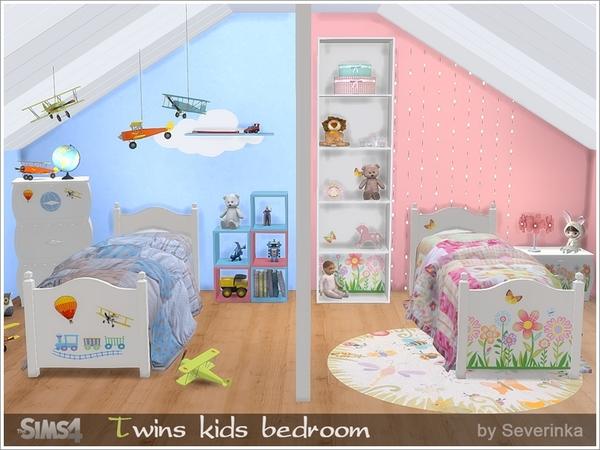 Severinka S Twins Kidsroom