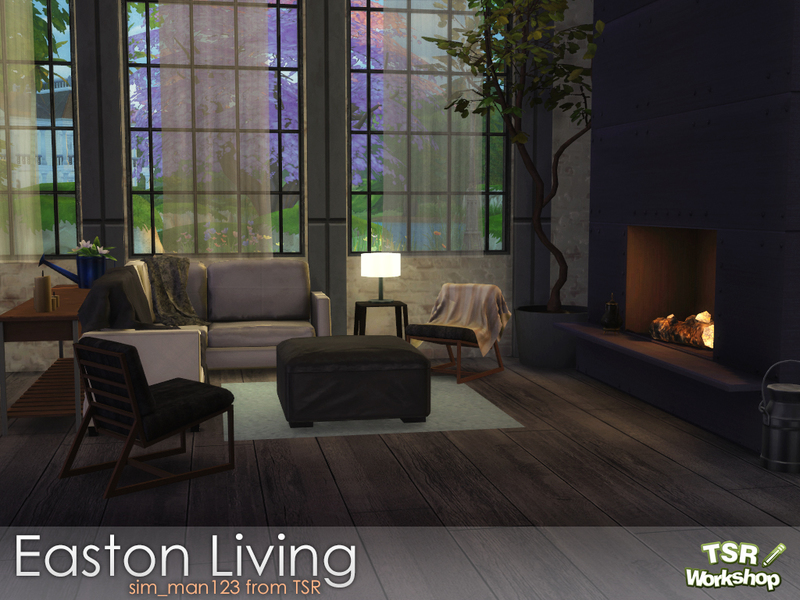 Sim Man123 S Easton Living Room