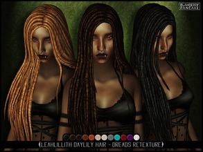 dread hair styles sims 4 hairstyles 1618