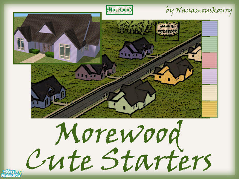 Nanamouskourys Morewood Cute Starters