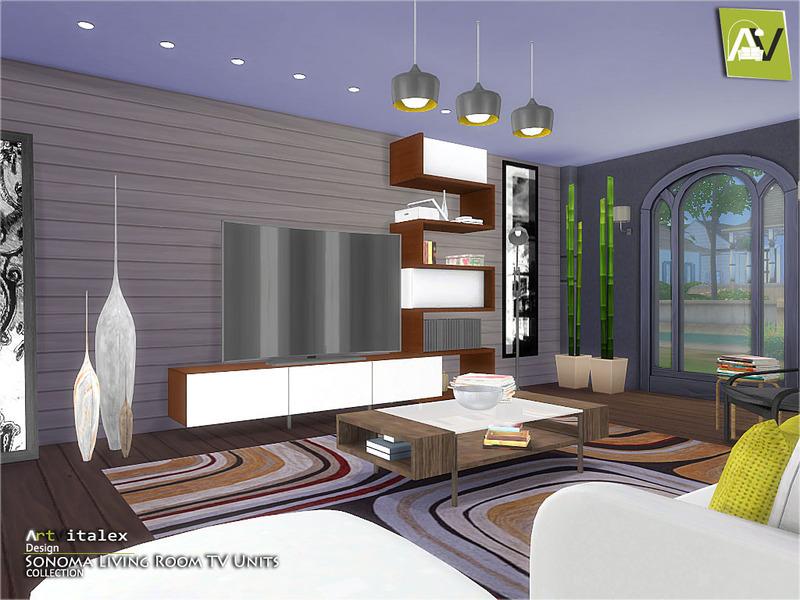 ArtVitalex\'s Sonoma Living Room TV Units