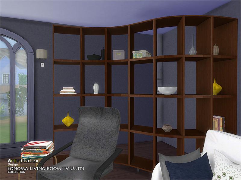 Artvitalex S Sonoma Living Room Tv Units