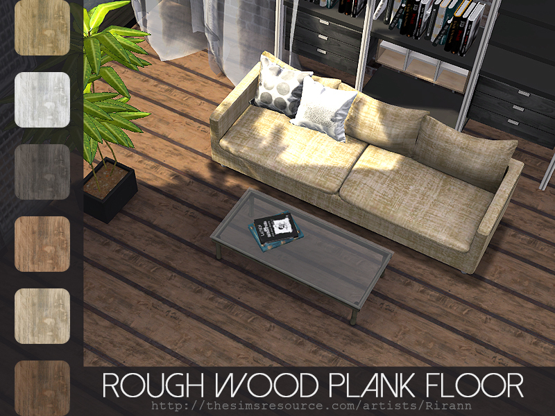 Rough Wood Planks ~ Rirann s rough wood plank floor