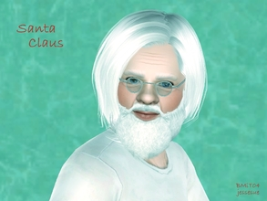 Sims 3 — Santa Claus by jessesue2 — Santa is known as being a jolly old elf, but as humble as he is, he really doesn't