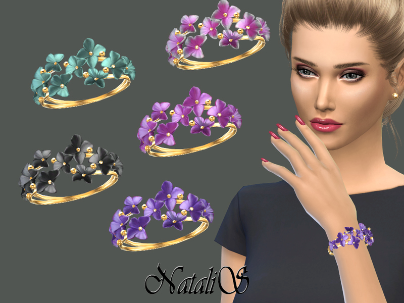 Natalis Flower Shape Gentle Bracelet