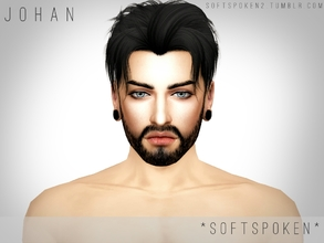 Sims 4 — Johan by Softspoken2 — Hi everyone, this is Johan. He's a sim that I've had in my gallery for a while, so I