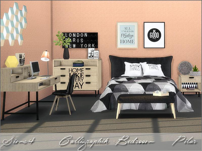 Pilar 39 S Calligraphik Bedroom