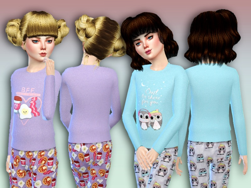 c0d1d71c3 Simlark s  Owl Be There For You  Pajama Set
