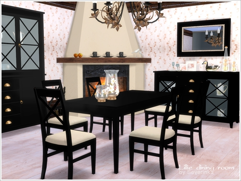 Severinka_\'s Lillie dining room
