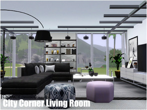 City Corner Living Room Part 2
