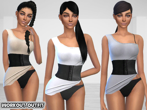 4d268cb04361b Sims 4 Female Athletic -  outfit