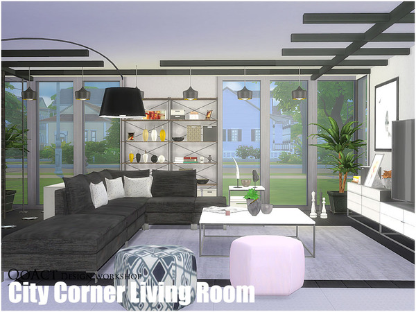City Corner Living Room