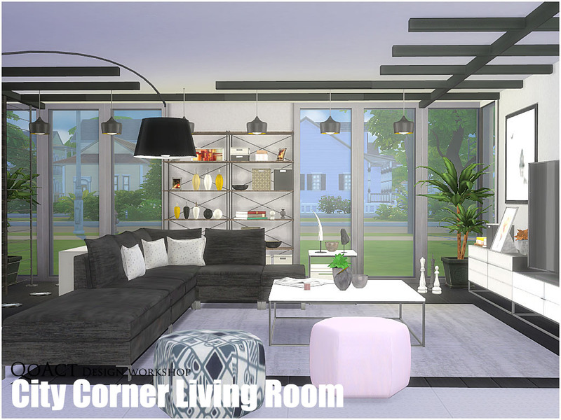 Qoact 39 S City Corner Living Room