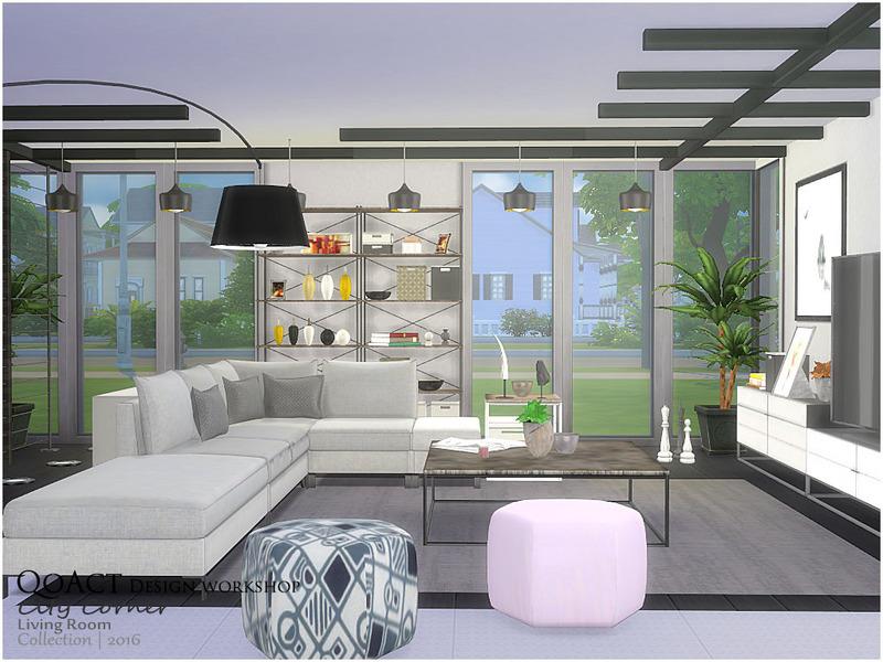Qoact S City Corner Living Room