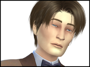 Sims 4 — SimActors- Matt Smith Sim (11th Doctor Who) by Witchbadger — Sim based on Matt Smith. Custom Content MUST be