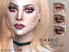 pralinesims's sims 4 makeup sets