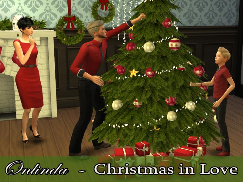 Stefaniaonlinda S Christmas In Love Pose Pack