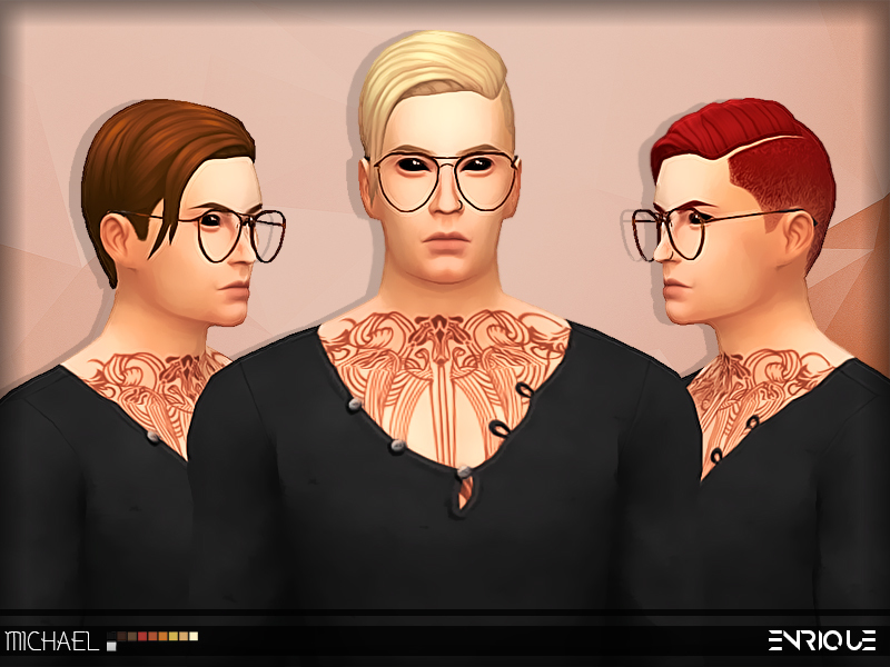Sims 4 Male Hairstyles - 'tumblr'
