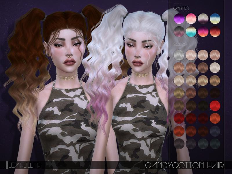Leah Lillith's Candycotton Hair  Leah Lillith...
