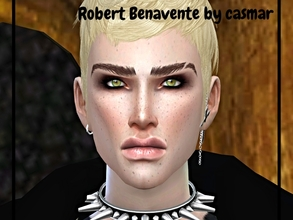 Sims 4 — Robert Benavente by casmar — Robert, a Sims who loves music, especially the guitar! He is very creative and
