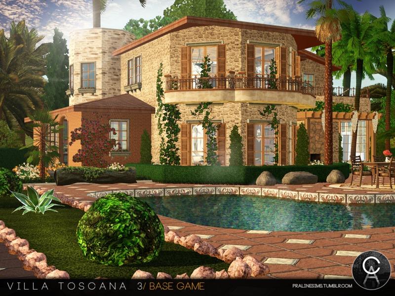 Pralinesims 39 villa toscana 3 for Villas toscana