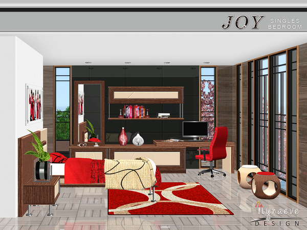 Nynaevedesign 39 s joy singles bedroom for Bedroom design simulator free