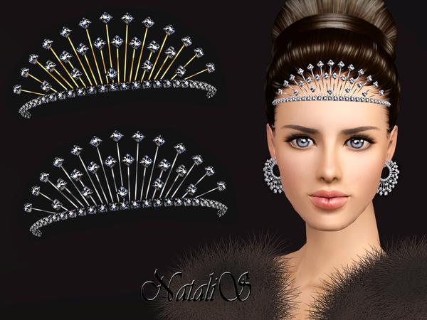 NataliS TS3 Winter crystals tiara FT-FA