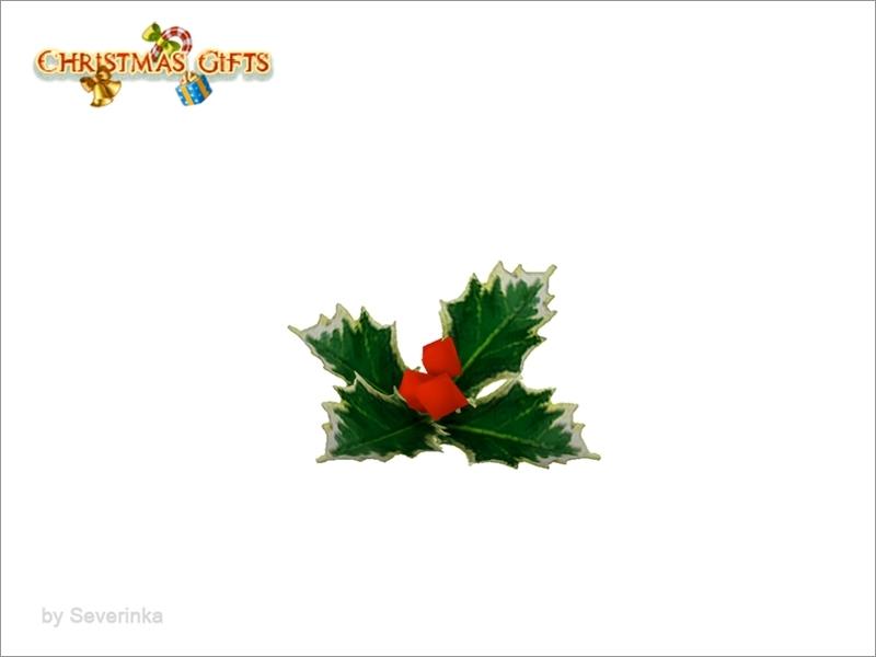 Severinkas Christmas Dishes Mistletoe