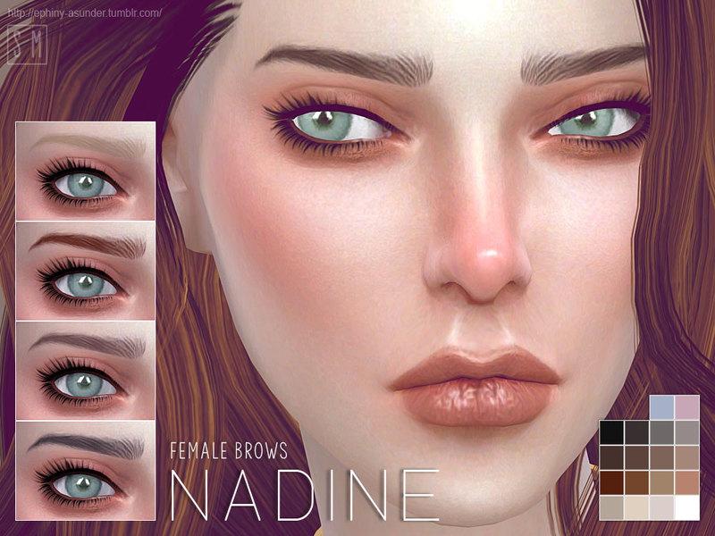 Screaming Mustard's [ Nadine ] - Female Brows