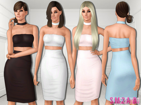477 - Medium dress by sims2fanbg