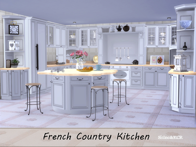 french country kitchen.  ShinoKCR S Kitchen French Country