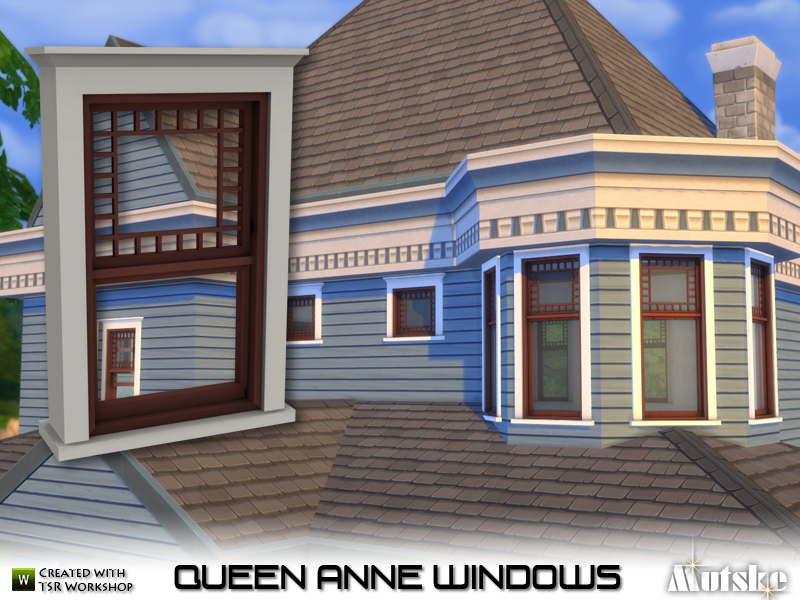 Mutske 39 s queen anne windows for Queen anne windows