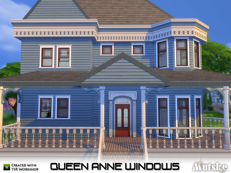 mutske's Queen Anne Windows