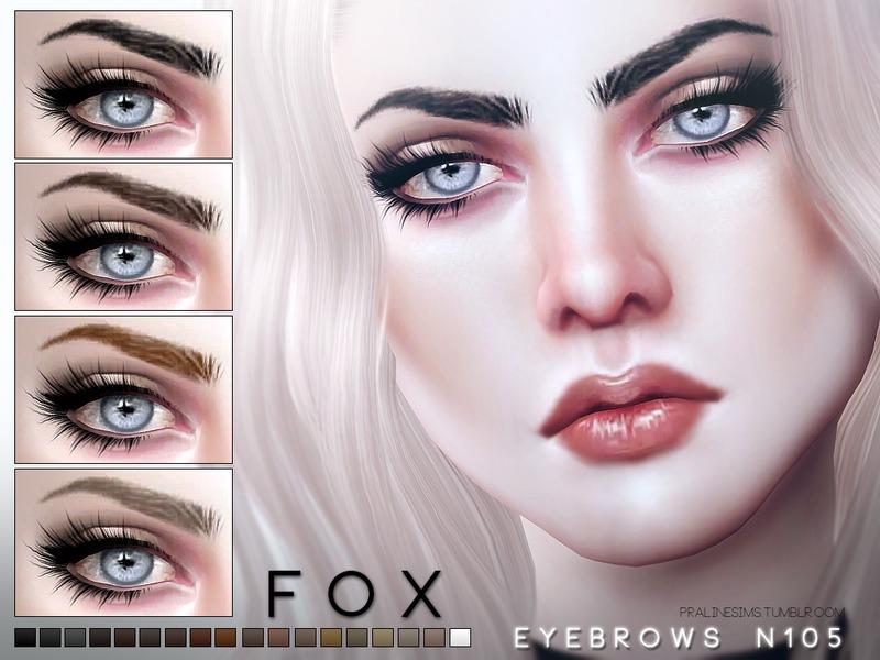 Pralinesims Fox Eyebrows N105