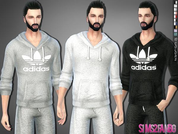sims2fanbg's 287 Athletic sweatshirt