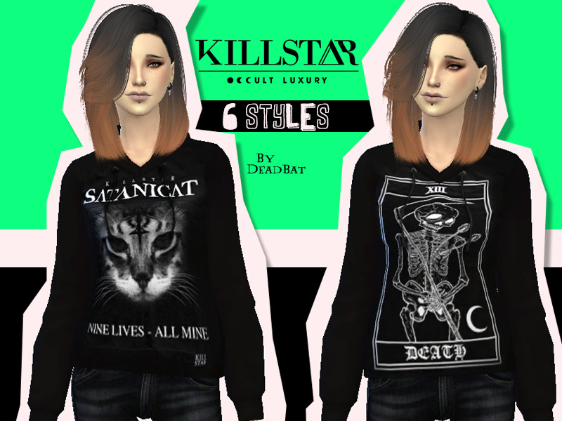 DeadBat's Killstar Hoodies