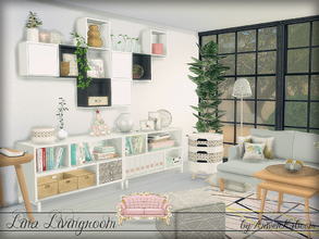 Contemporary And Modern Sims 4 Living Room Sets