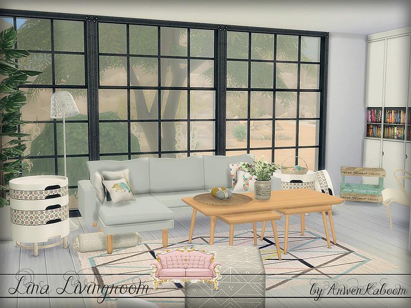 Arwen Lina Living Room Tsr